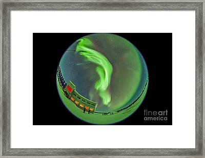 Aurora Borealis Over Churchill Framed Print