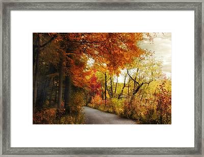Autumn Passage Framed Print by Jessica Jenney