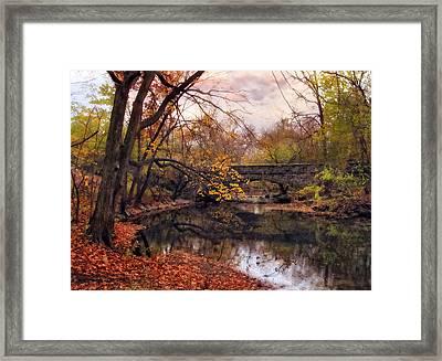 Autumn's Ending Framed Print by Jessica Jenney