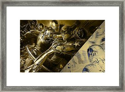 Avengers Collection Framed Print