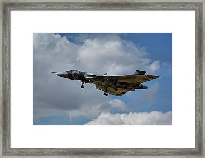 Avro Vulcan B2 Xh558 Framed Print by Tim Beach