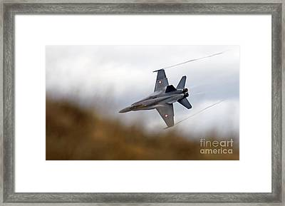 Axalp Framed Print by Angel  Tarantella
