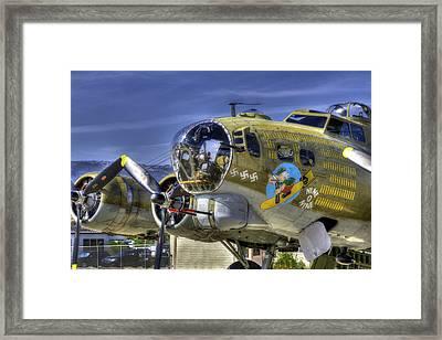B-17 Framed Print