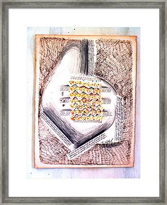 Song Of The Heart Framed Print by Al Goldfarb