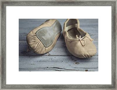 Ballet Shoes Framed Print by Nailia Schwarz