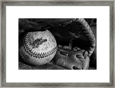 Baseball Memories Framed Print
