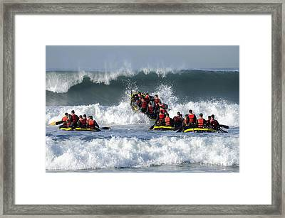Basic Underwater Demolitionseal Framed Print