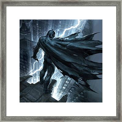 Batman The Dark Knight Returns 2012 Framed Print