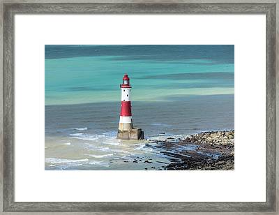 Beachy Head - England Framed Print