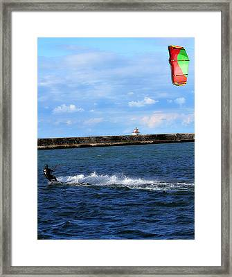Beautiful Day Framed Print by Celestial  Blue