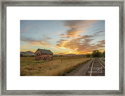 Beautiful Sunrise Framed Print by Robert Bales