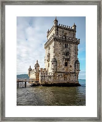 Belem Tower Framed Print