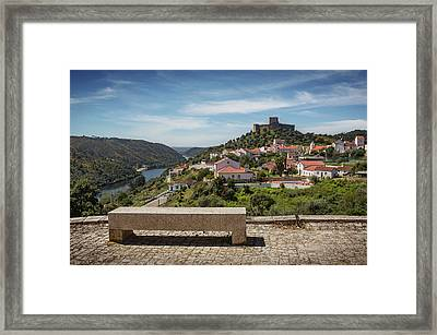 Framed Print featuring the photograph Belver Landscape by Carlos Caetano