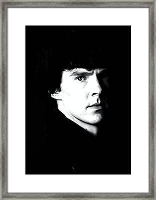 Benedict Cumberbatch Art Framed Print by Best Actors