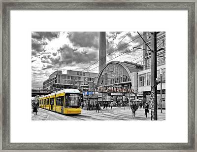 Berlin Alexanderplatz Framed Print
