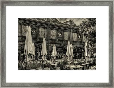 Berlin Cafe Framed Print
