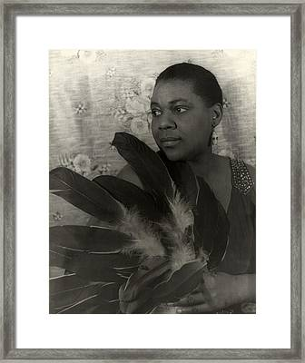 Bessie Smith, American Blues Singer Framed Print by Everett