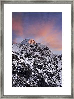 Bidean Nam Bian - Glen Coe Framed Print by Rod McLean