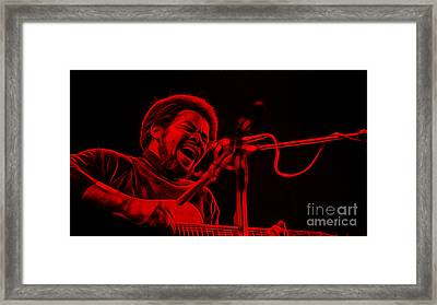 Bill Withers Collection Framed Print by Marvin Blaine