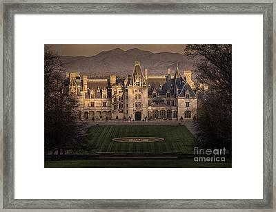 Biltmore Estate Framed Print by Doug Sturgess