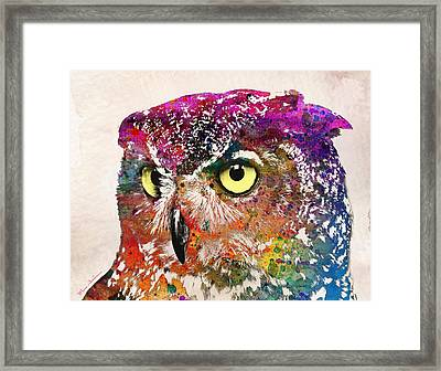 Birds Framed Print by Mark Ashkenazi