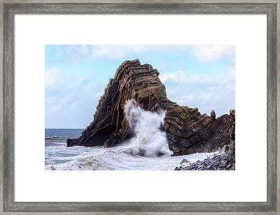 Blackchurch Rock - England Framed Print