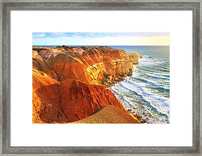 Blanche Point Framed Print