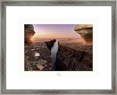 Blata Tal-melh - Salt Rock Framed Print