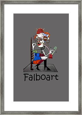 Bloody Mary Let The Dead Bury The Dead Framed Print by Anthony Falbo