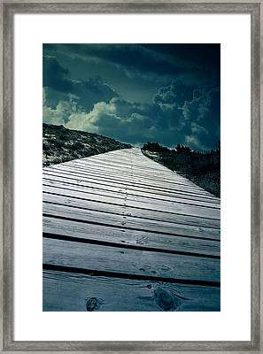 Boardwalk Framed Print by Joana Kruse