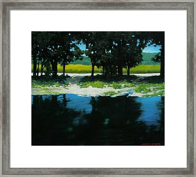 Boat Launch Framed Print by Kevin Lawrence Leveque