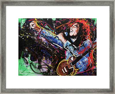 Bob Marley Framed Print by Richard Day