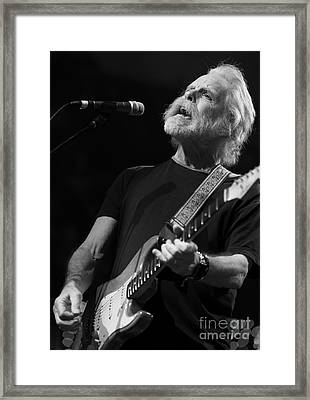 Bob Weir And Friends Framed Print by David Oppenheimer
