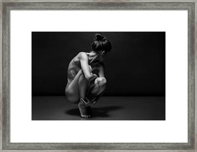 Bodyscape Framed Print by Anton Belovodchenko