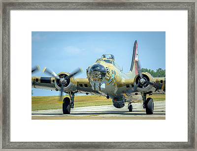 Boeing B-17g Flying Fortress   Framed Print