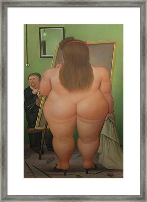 Bogota Museo Botero Framed Print