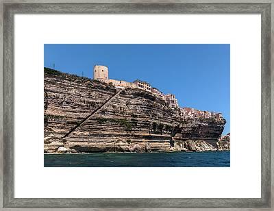 Bonifacio - Corsica Framed Print