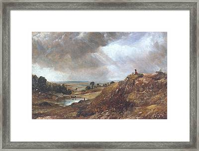 Branch Hill Pond Framed Print by John Constable