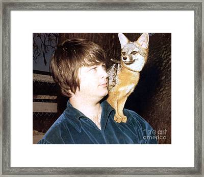 Brian Wilson Of The Beach Boys 1966. Framed Print by The Titanic Project