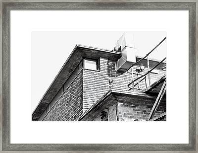 Brick Building Framed Print