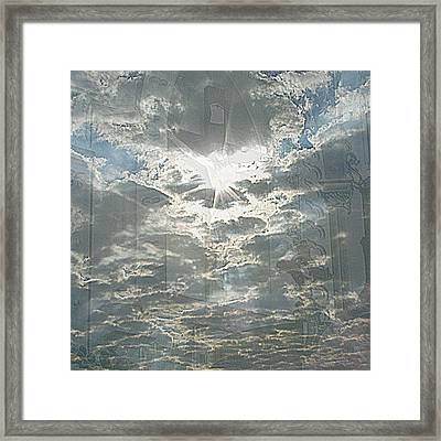 Bright Morning Star Framed Print