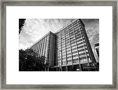 brunel house office building home to hmrc amongst others Cardiff Wales United Kingdom Framed Print by Joe Fox