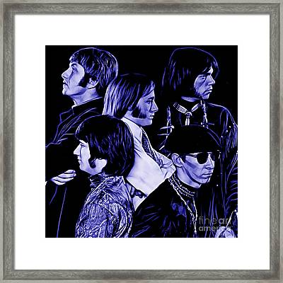 Buffalo Springfield Collection Framed Print