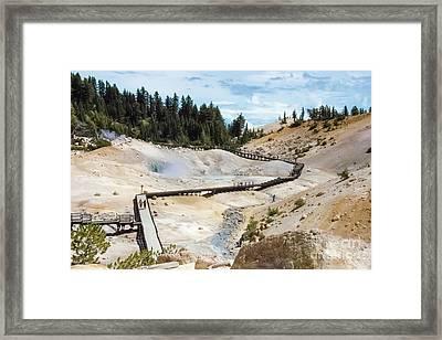 Bumpass Hell Framed Print