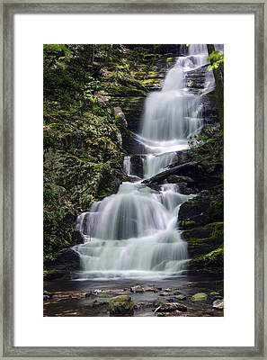Buttermilk Falls Framed Print by Eleanor  Bortnick