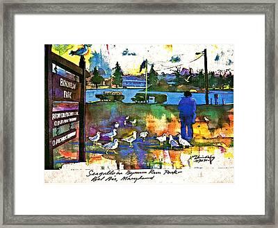 Bynum Run Park Framed Print