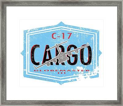 C-17 Cargo Framed Print by Clear II land Net