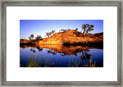 C S Landscape Framed Print
