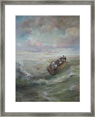 Calming The Storm Framed Print by Tigran Ghulyan