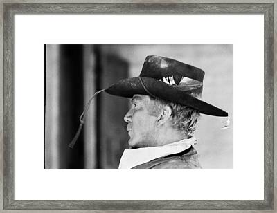 Cameron Mitchell The High Chaparral Set Old Tucson Arizona 1967 Framed Print by David Lee Guss